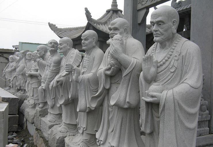 【精品推荐】罗汉像石雕弥勒佛像观音菩萨像石雕地藏宗教石雕神像