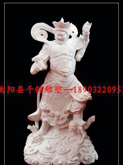 石雕四大天王雕像古代人物像加工定做