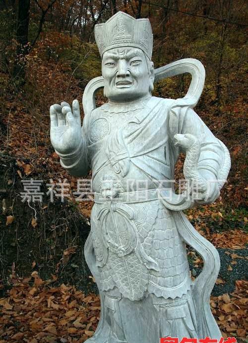 加工定做石雕四大天王  四大天王雕刻  人物雕刻 佛像雕刻
