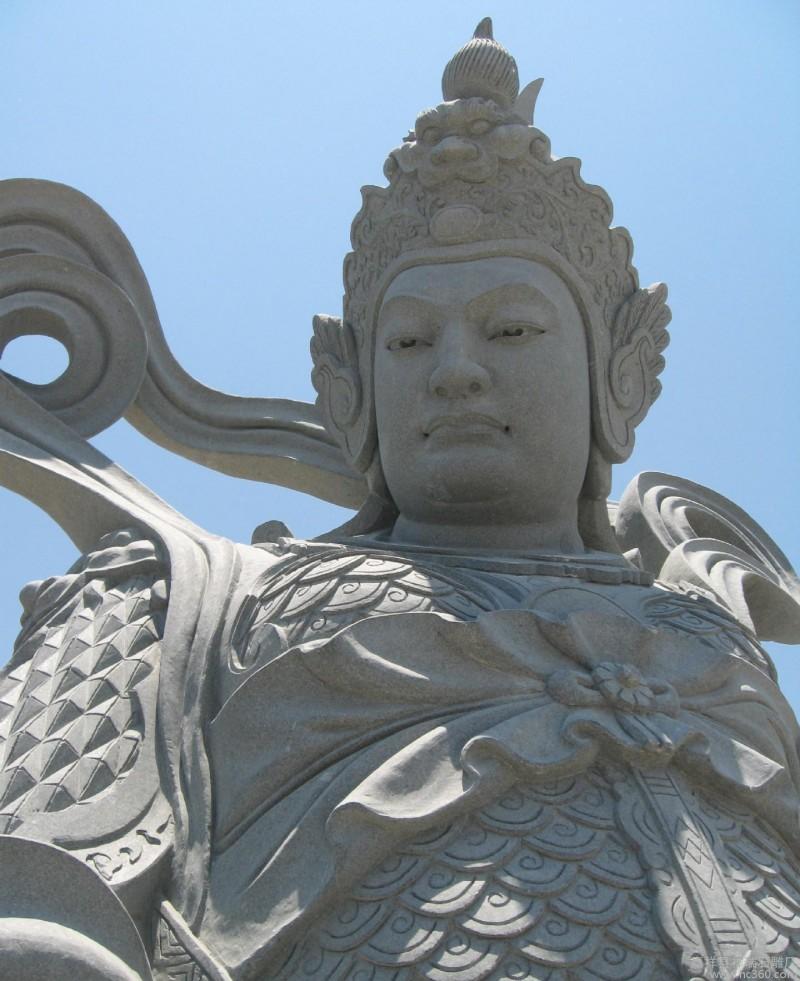 嘉祥祥瑞石雕厂直销人物雕像 四大天王