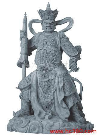 供应佛像雕塑,四大天王,佛像石雕,4大天王