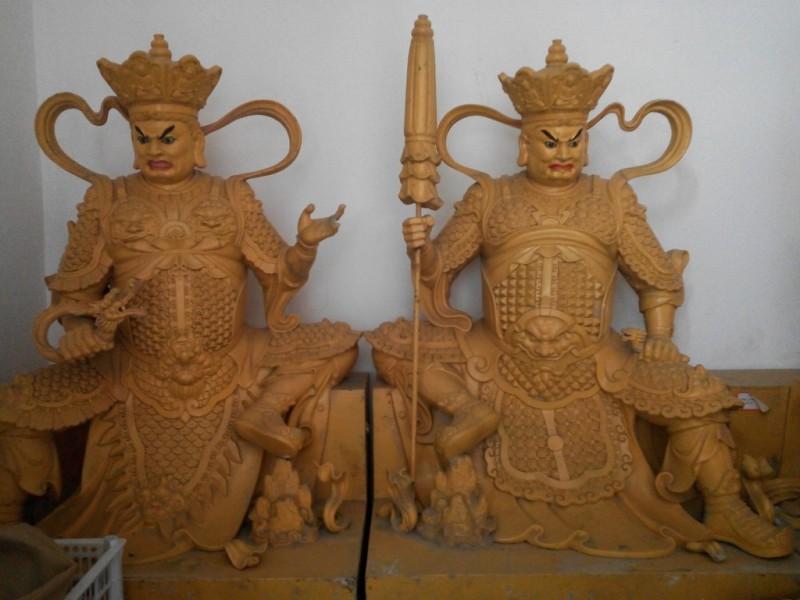 批发各种佛像用品  佛像厂家 可定做 四大天王