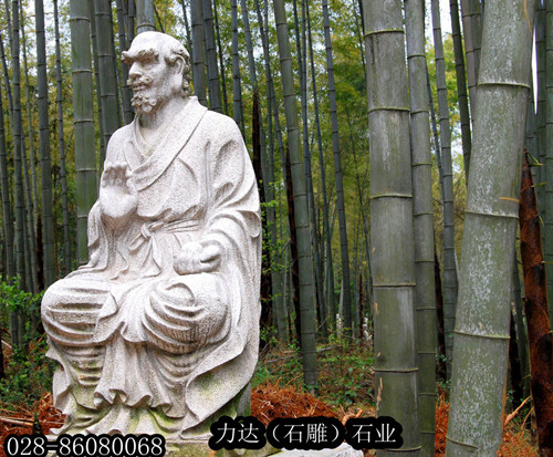 供应力达LD-006石雕佛像地藏王/观音/十八罗汉