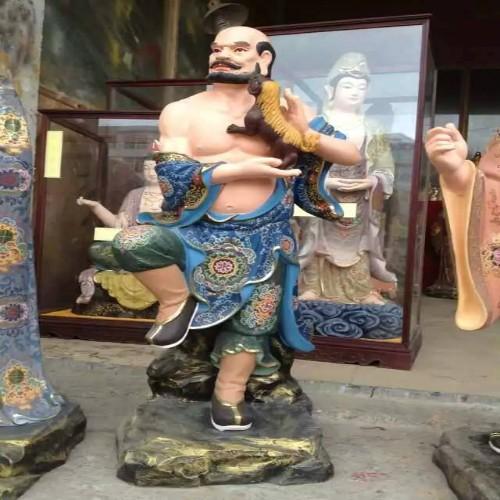 批发各种佛教用品 十八罗汉 佛像厂家