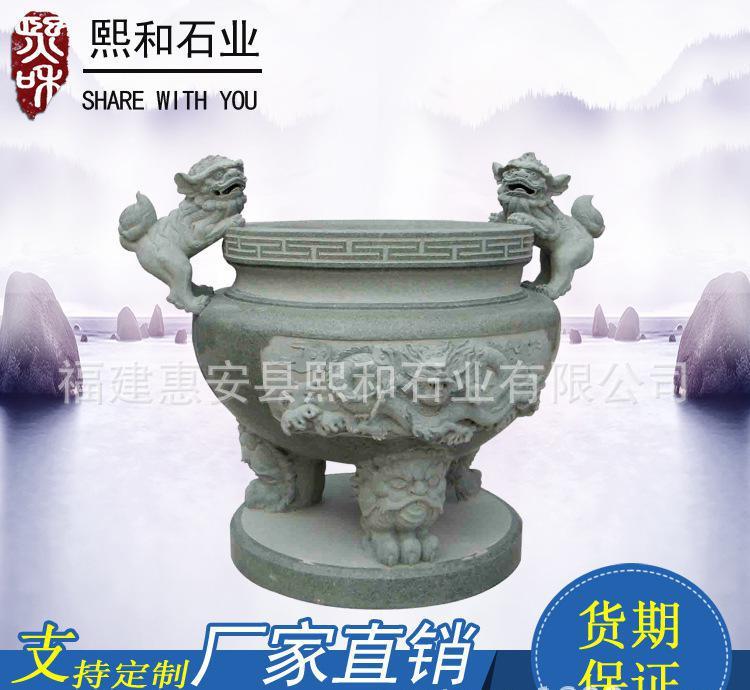 现代佛教香炉古代香炉石雕 更专业的雕刻鬼斧神工优质货源