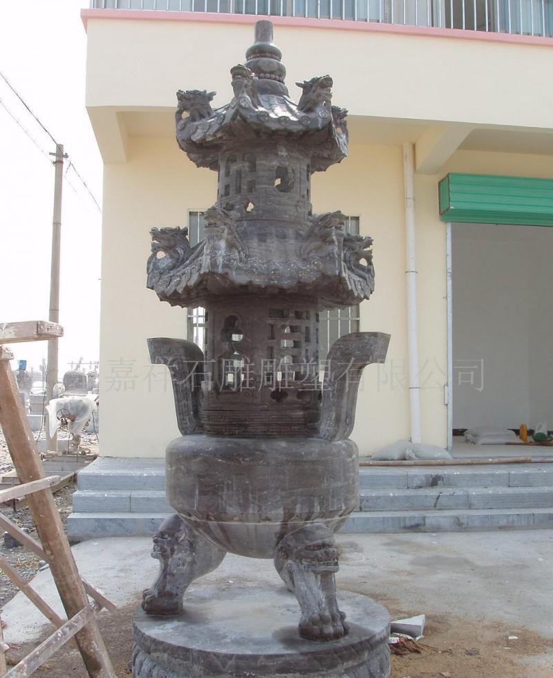石雕天工炉石雕鼎香炉,中华第一宝鼎石雕香炉仿古石雕礼器