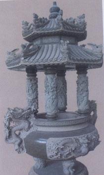 【厂家直销】嘉祥石雕香炉石雕司母戊鼎石鼎 石雕花瓶 宝瓶礼器