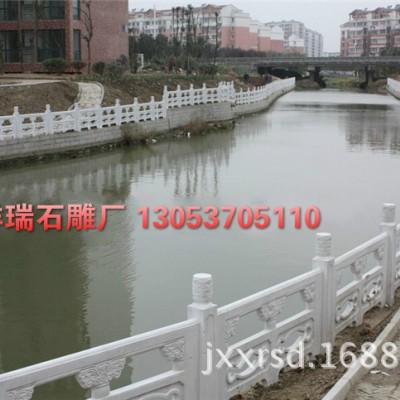 嘉祥祥瑞石雕厂供应河道桥栏杆 雕刻