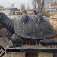 石雕乌龟王八雕塑出售石头龟厂家