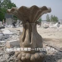 别墅小区花岗岩花钵花盆石雕厂家