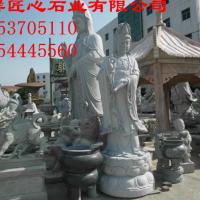 嘉祥匠心石业有限公司加工定做石雕佛像 观音菩萨像 寺院佛像