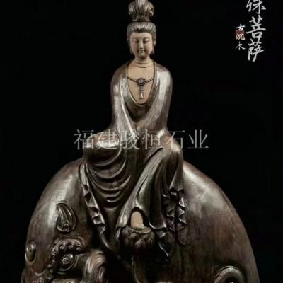 人物动物木雕订制 古沉木雕刻佛像