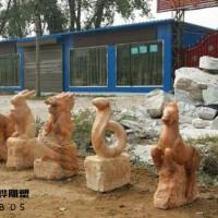 石雕十二生肖雕塑厂家直销12生肖石雕