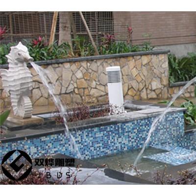 石雕喷水海马雕塑小区水景装饰海洋