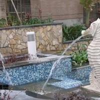 石雕喷水海马雕塑小区水景装饰海洋动物海马石雕