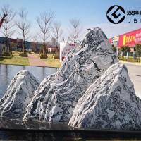 曲阳雪浪石片石组合图片及厂家