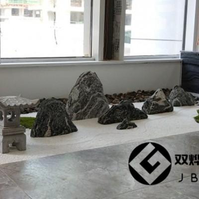 室内造景假山石漂亮薄片假山枯山水