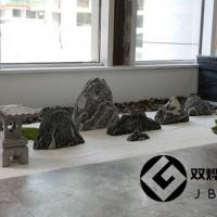 室内造景假山石漂亮薄片假山枯山水石头切片组合