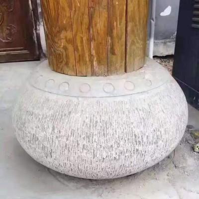 古建筑园林柱顶石厂家供应,手工雕